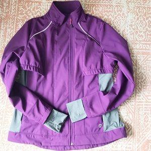Purple cool weather jacket